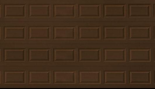 Short Panel Dark Brown Crop U4943 Abc Door Company Llc