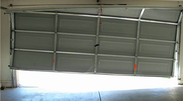 off track garage door - Garage Door Off Track